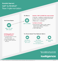 SAP S/4HANA New Implementation infographic thumbnail.